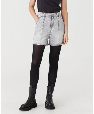 Jac & Mooki - Winnie Shorts - Denim (grey wash) Winnie Shorts