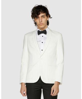 Jack London - Ivory Tuxedo Jacket - Suits & Blazers (White) Ivory Tuxedo Jacket