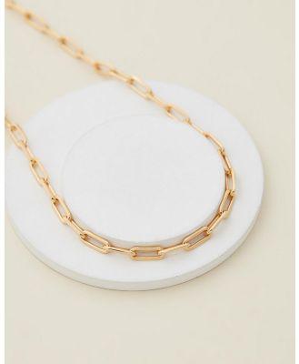 Jackie Mack - Mar Necklace - Jewellery (18k Yellow Gold Vermeil) Mar Necklace