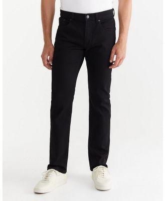 Jag - Flynn Straight Jeans - Jeans (black) Flynn Straight Jeans