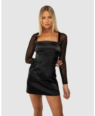 Jagger & Stone - Crawford Mini Dress - Dresses (Black) Crawford Mini Dress