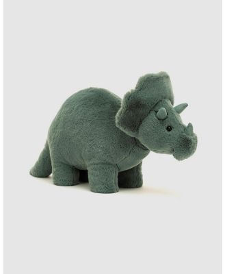 Jellycat - Fossilly Triceratops - Animals (Green) Fossilly Triceratops