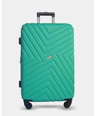 JETT BLACK - Emerald Maze Medium Suitcase - Bags (Green) Emerald Maze Medium Suitcase