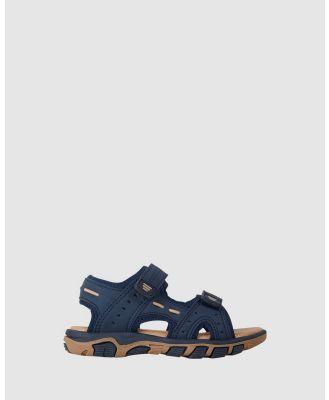 JETT JONES - Chace - Sandals (Navy) Chace