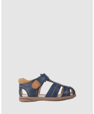 JETT JONES - Chandler - Sandals (Navy) Chandler