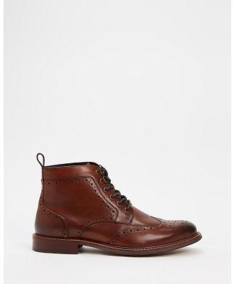 Julius Marlow - Caliber - Boots (Brown Smooth) Caliber