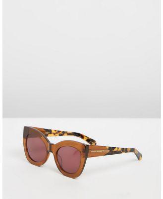 Karen Walker - Northern Lights - Sunglasses (Tan Crazy Tort) Northern Lights