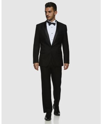 Kelly Country - Kelly Country PGH Pure Wool Black Dinner Suit Set - Suits & Blazers (Black) Kelly Country PGH Pure Wool Black Dinner Suit Set