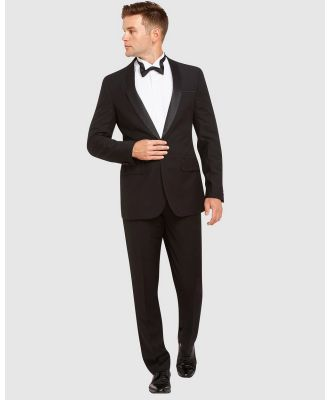 Kelly Country - Livorno 1 Button Slim Fit Dinner Suit - Suits & Blazers (Black) Livorno 1 Button Slim Fit Dinner Suit