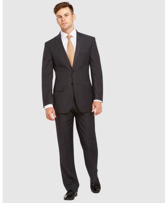 Kelly Country - Livorno Slim Fit Charcoal Suit - Suits & Blazers (Grey) Livorno Slim Fit Charcoal Suit