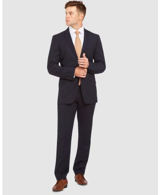 Kelly Country - Livorno Slim Fit Navy Suit - Suits & Blazers (Blue) Livorno Slim Fit Navy Suit