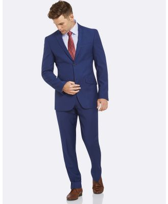 Kelly Country - Livorno Slim Fit Royal Suit - Suits & Blazers (Blue) Livorno Slim Fit Royal Suit