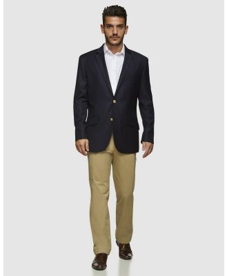 Kelly Country - PGH Pure Wool Blazer - Suits & Blazers (Navy) PGH Pure Wool Blazer