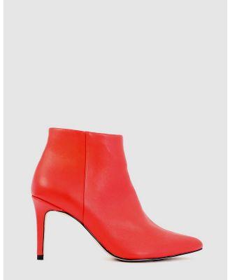 Kennedy - Top - Heels (Red) Top