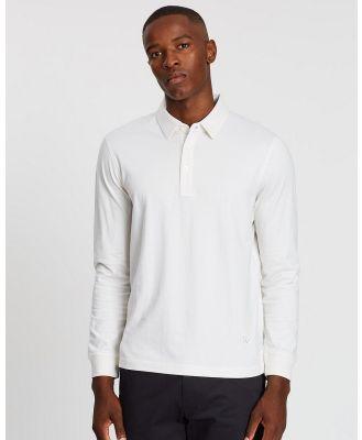 Kent and Curwen - Classic Polo Shirt - Shirts & Polos (White) Classic Polo Shirt