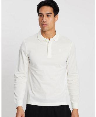 Kent and Curwen - Classic Rose Polo Shirt - Shirts & Polos (White) Classic Rose Polo Shirt