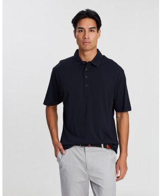 Kent and Curwen - Solid Tone Polo - Shirts & Polos (Deep Blue) Solid Tone Polo