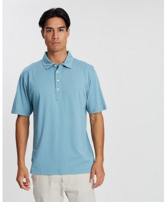 Kent and Curwen - Solid Tone Polo - Shirts & Polos (Green) Solid Tone Polo