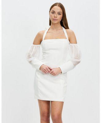 KIANNA - Catalina Halter Dress - Dresses (Ivory) Catalina Halter Dress