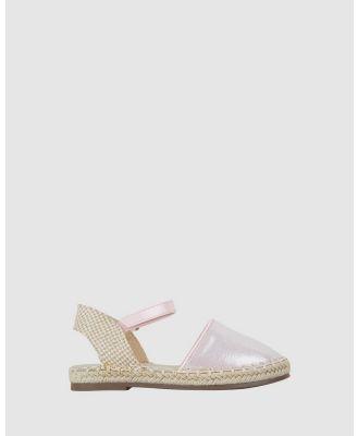 Kicks - Kayla Espadrille - Flats (Light Pink) Kayla Espadrille