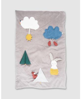 Kikadu - Rabbit Activity Playmat - Toys (Rabbit) Rabbit Activity Playmat