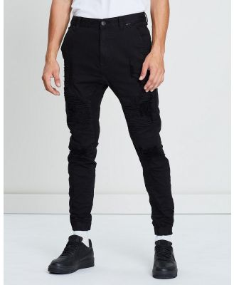 Kiss Chacey - Zeppelin Pants - Jeans (Destroyed Solid Black) Zeppelin Pants