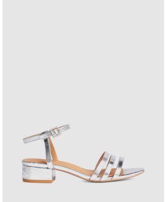 LMS - The Mimi - Mid-low heels (Silver) The Mimi