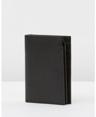 Loop Leather Co - Old Bill - Wallets (Black) Old Bill