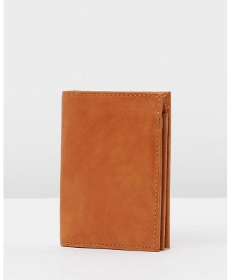 Loop Leather Co - Old Bill - Wallets (Mid Tan) Old Bill