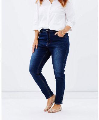 Love Your Wardrobe - Dark Wash Jeans - Tapered (Indigo) Dark Wash Jeans