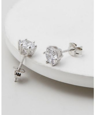 Michael Hill - Stud Earrings with Cubic Zirconia - Jewellery (Sterling Silver) Stud Earrings with Cubic Zirconia