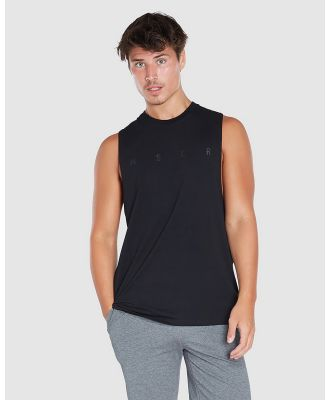Muscle Republic - Rocky Muscle Tee - Muscle Tops (Black) Rocky Muscle Tee