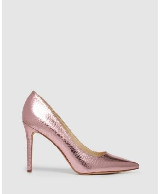 Nine West - Timeout - All Pumps (PINK CROC) Timeout