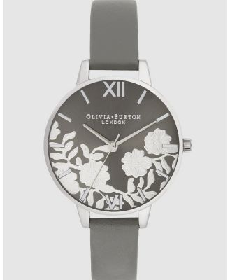 Olivia Burton - Lace Detail - Watches (Silver) Lace Detail