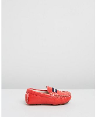 Oscars For Kids - Sorento Loafers   Babies Kids - Dress Shoes (Red) Sorento Loafers - Babies-Kids