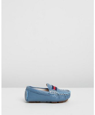 Oscars For Kids - Sorento Loafers Infant - Dress Shoes (Mid Blue) Sorento Loafers Infant