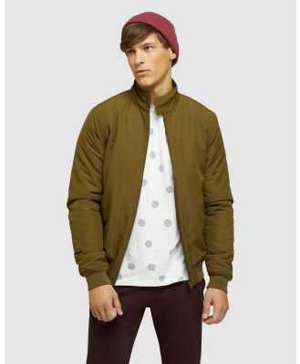 Oxford - Harry Bomber Jacket - Coats & Jackets (Green) Harry Bomber Jacket