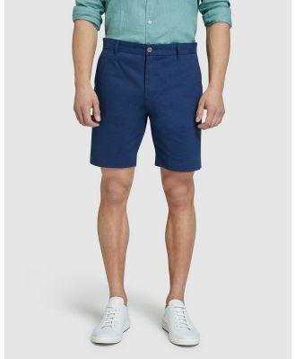 Oxford - Henry Chino Shorts - Chino Shorts (Blue) Henry Chino Shorts