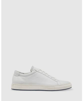 Oxford - Mateo Leather Trainer - Lifestyle Sneakers (White) Mateo Leather Trainer