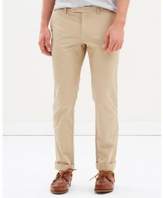 Polo Ralph Lauren - Slim Fit Stretch Chinos - Pants (Classic Khaki) Slim-Fit Stretch Chinos