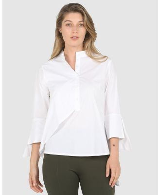 Privilege - Polished Shirt - Tops (White) Polished Shirt