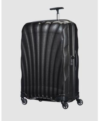 Samsonite - Cosmolite 3.0 81cm Spinner Case - Travel and Luggage (Black) Cosmolite 3.0 81cm Spinner Case