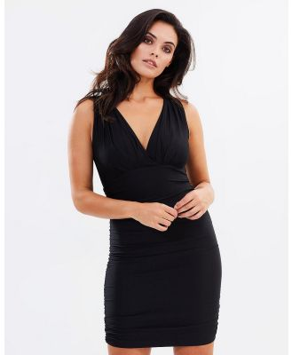 SKIVA - Bodycon Mini Dress - Bodycon Dresses (Black) Bodycon Mini Dress