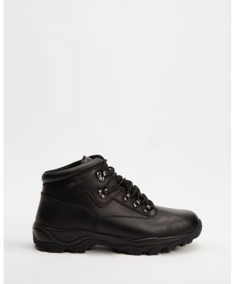 Staple Superior - Hiking Boots - Outdoor Shoes (Black) Hiking Boots