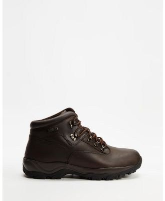 Staple Superior - Hiking Boots - Outdoor Shoes (Brown) Hiking Boots