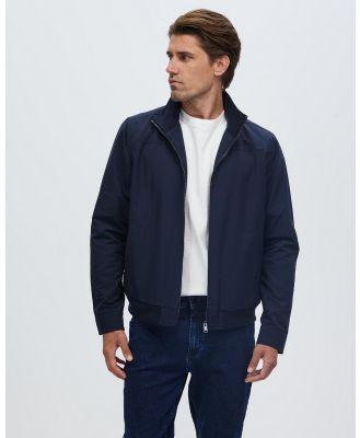 Staple Superior - Mason Harrington Jacket - Coats & Jackets (Navy) Mason Harrington Jacket