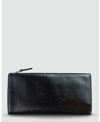 Status Anxiety - Dakota Wallet - Wallets (Black) Dakota Wallet