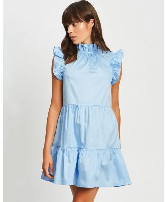 The Fated - Spinning Around Dress - Dresses (Pale Blue) Spinning Around Dress