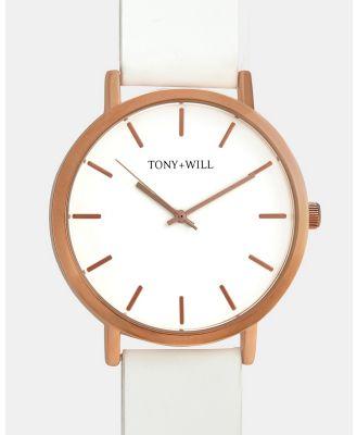 TONY+WILL - Classic - Watches (White) Classic