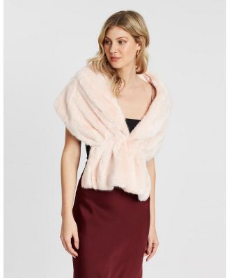 Unreal Fur - Champagne Wrap - Coats & Jackets (Pink) Champagne Wrap